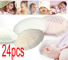 24 Disposable Nursing Pad Safe Breast Feeding Baby Maternity BreastFeed Adhesive