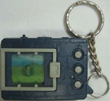 Bandai Digimon Tamagotchi Monster Dark Blue Gray Buttons 1997
