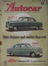 Autocar magazine 13/11/1953 featuring Studebaker Commander Coupe road test