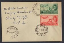 POLAND EGYPT 1947 POLISH FORCES IN ALEXANDRIA TYING AIR MAIL KING FAROUK ISSUES