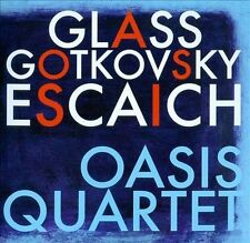 Nabb; Bunte; Camwell; Romain-Oasis Quartet Plays Glass, Got CD NEW