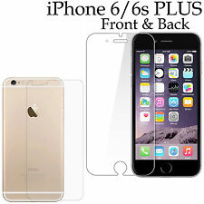 Anti-scratch 4H PET film screen protector Apple iphone 6 6s PLUS front + back