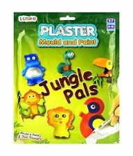 Mould And Paint Jungle Animals Plaster Kit