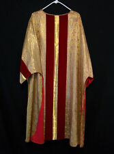 GOLD BROCADE DALMATIC Church Clergy Deacon's Vestments Easter Christmas Festive