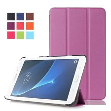 Ultra Slim PU Leather Folio Book Protective Case Cover Stand For Samsung Galaxy