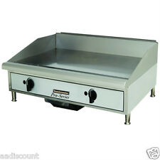 """NEW TOASTMASTER STAR 24"""" FLAT TOP GAS GRIDDLE TMGM24"""