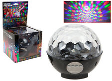 Bluetooth PARTY LED DISCO BALL Speaker BOOM Wireless Light Show iPhone Android
