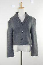 tricot COMME des GARCONS Wool Half Jacket Gray  One size AD1994