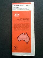 WARRAGUL GIPPSLAND MINERALS ENERGY TOPOGRAPHIC MAP BOOK GUIDE 1ST ED 1973 AUST