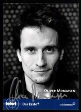 Oliver Mommsen escena del crimen autografiada mapa original firmado # bc 16171