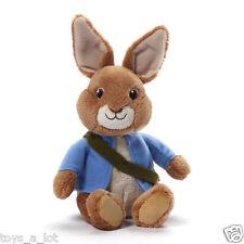 """Gund Talking Peter Rabbit 7"""" Nickelodeon Tv Series Peter Rabbit Sound Plush"""