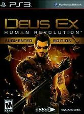Deus Ex Human Revolution - Augmented Edition, (PS3)