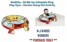 RedKite - Sit Me Up Inflatable Ring Play Gym - Garden Gang Kid Activity
