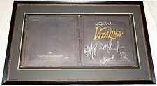 PEARL JAM HAND SIGNED AUTOGRAPHED CUSTOM FRAMED VITALOGY ALBUM BY 5! RARE! PROOF