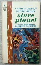 Slave Planet by Laurence M. Janifer PB 1st Pyramid F840 - master vs slaves