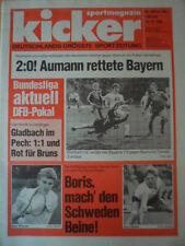 KICKER 103 - 19.12. 1985 * DFB-Pokal Bayern-Bochum 2:0 Uerdingen-Gladbach 1:1