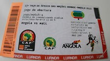 Ticket for collectors Africa Nations Cup 2010 Angola Mali in Luanda no 1