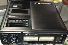 Nakamichi 550 professional portable cassette deck with power pack parts/repair