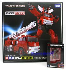 61782 TRANSFORMERS MASTERPIECE MP-33 INFERNO with METAL MINI OPTIMUS