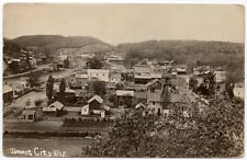 Real Photo Postcard Birds Eye View of Tunnel City, Wisconsin~107176