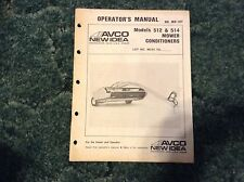 986663 - Is A New Original Operators Manual For A New Idea 512, 514 Mower