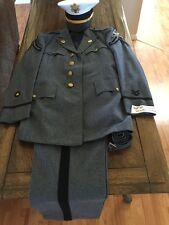 1940's West Point Uniform With Dress  Hat. Wool Jacket And Pants Date 11, 14, 46