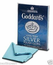 GODDARDS SILVER POLISH CLOTH POLISHNG CLEANER JEWELLERY , BRAND NEW