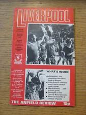 22/04/1978 Liverpool v Norwich City  (Foxing)