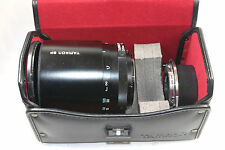 500mm f8 Tamron SP Adaptall Mirror lens model 55BB, Nikon Ai, case, hood, caps