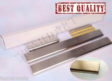 Stainless Steel Door Sill Entry Guard Covers Trim fit Fiat Bravo 2007-