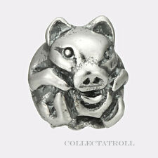 Authentic Troll Beads Sterling Silver Chinese Pig Trollbead 11464