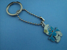 """BOYS CHARACTER """"SMURF""""KEY RING,ALSO NECKLACE AVAILABLE FREE POST IN OZ!!"""