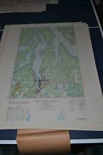 1940's Army Topo map Olympia Washington Sheet 1478 III