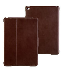 FUTLEX Genuine Leather Tab Closure Cover Case for iPad Air 2 - Coffee Colour