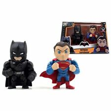 "Batman v Superman: Dawn of Justice Superman and Batman w/ Armor 4"" Die Cast Jada"