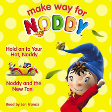 NEW - NODDY 2 story CD AUDIO book HOLD ONTO YOUR HAT / and the NEW TAXI