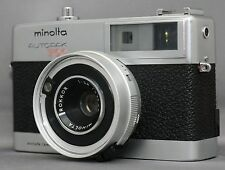 MINOLTA AUTOPAK 700 35mm VINTAGE Film Camera ROKKOR 38mm F2.8 Lens VERY CLEAN