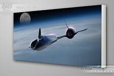 Lockheed SR-71 Blackbird / Habu CANVAS PRINT, Digital Artwork