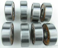 8PCS Stainless Steel Inline Skate Skateboard Bearings fit for ABEC-9 608RS ILQ-9