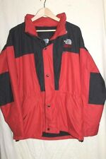 "THE NORTH FACE ""All Conditions Gore-Tex"" Full Zip Coat Jacket Men's M Red Black"