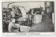 CPA -69-  LYON - LE SALUT PUBLIC - La Salle des Rotatives.