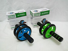 002. Fitness Double Roller Exercise Wheel 155mm Abs Build up
