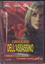 Dvd **L'AVVOCATO DELL'ASSASSINO** nuovo 2002