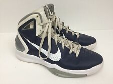 NIKE AIR MAX HYPERDUNK 2010 BASKETBALL SHOES MENS 12.5 ANKLE STRAP SWOOSH
