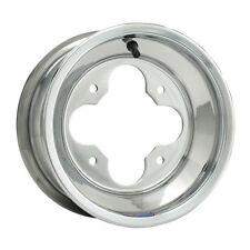 (2) Rims Wheels Front Aluminum Arctic Cat DVX 250 400 Polished Aluminum