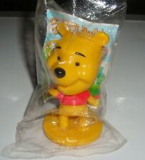 "DISNEY WINNIE THE POOH BOBBLE HEAD 3"" TOY FIGURE CAKE TOPPER"