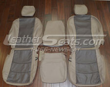 2009 - 2013 Dodge Ram Crew Cab Custom Two Tone Leather Seat Upholstery