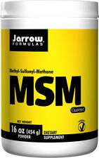 Jarrow Formulas MSM Methyl-Sulfonyl-Methane Sulfur, 454 g, 16 oz Powder