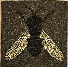 Fly Mosaic  Stone Inlay Unique Home Decor tile marble wall painting art picture