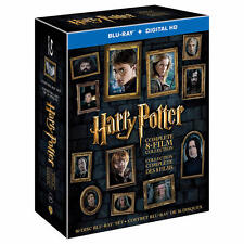 Harry Potter Complete 8-Film Collection Exclusive Book Prints [16-Disc Blu-Ray]